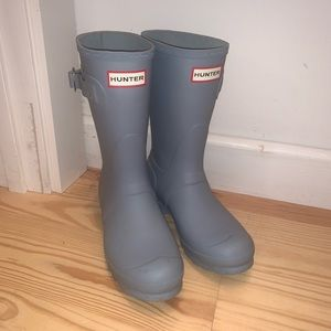 Hunter Boots Baby Blue